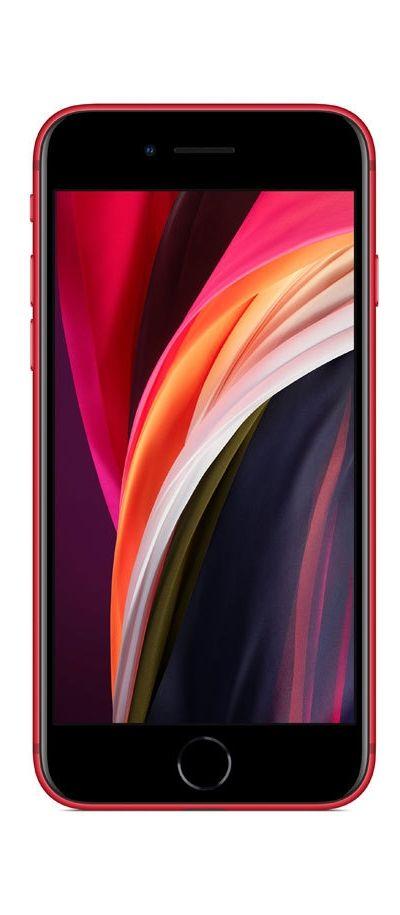 Смартфон iPhone SE - 2nd gen, 64GB, червен - 2
