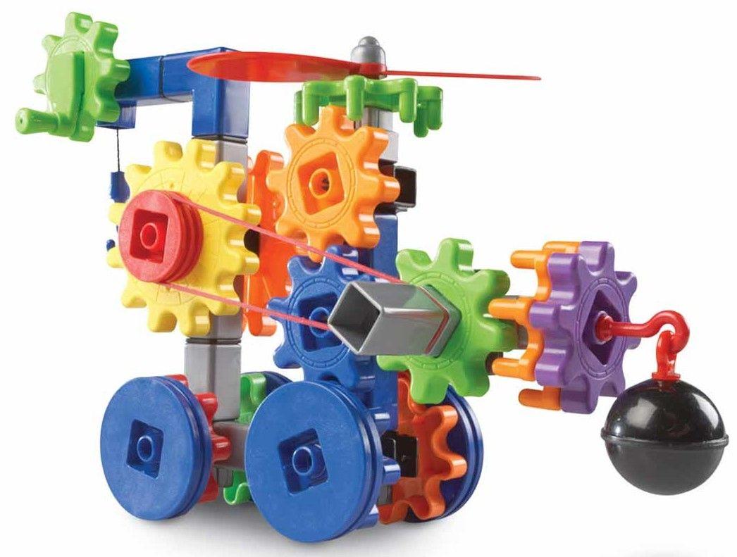 Детски конструктор Learning Resources - Машини в действие - 2