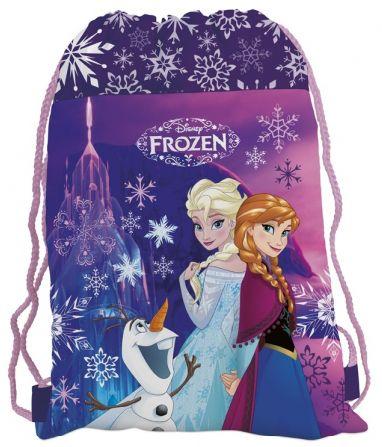 Спортен сак с връзки - Frozen - 1