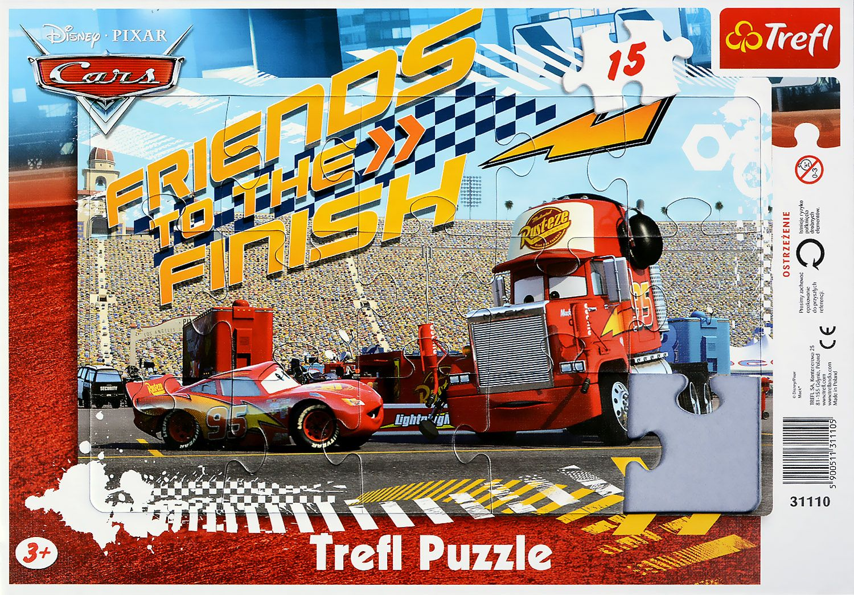 Пъзел Trefl от 15 части - Cars Светкавицатa, Мак - 2