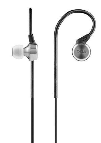 Безжични слушалки с микрофон RHA - MA650 W, черни - 2