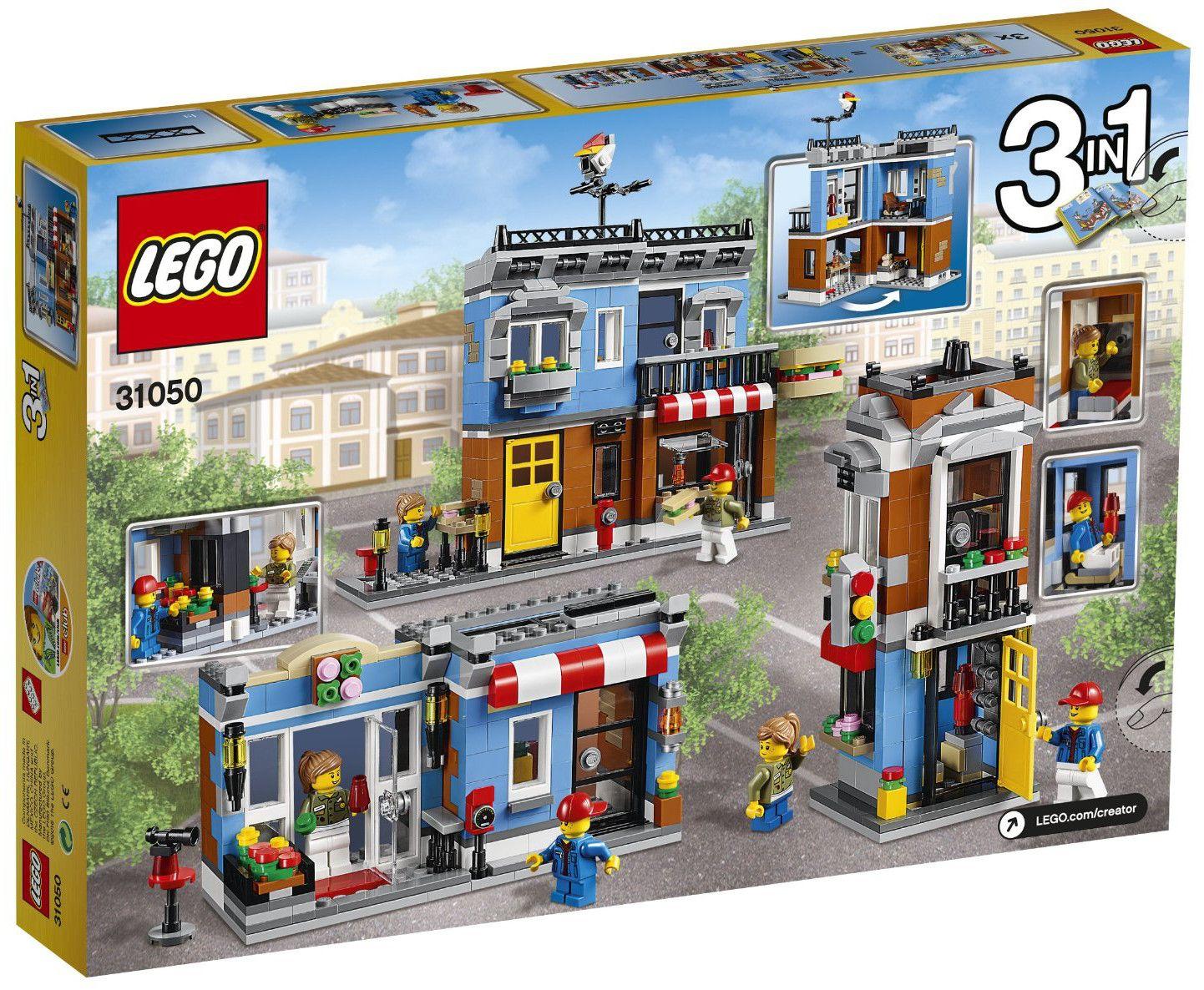 Конструктор Lego Creator - Закусвалня на ъгъла (31050) - 3