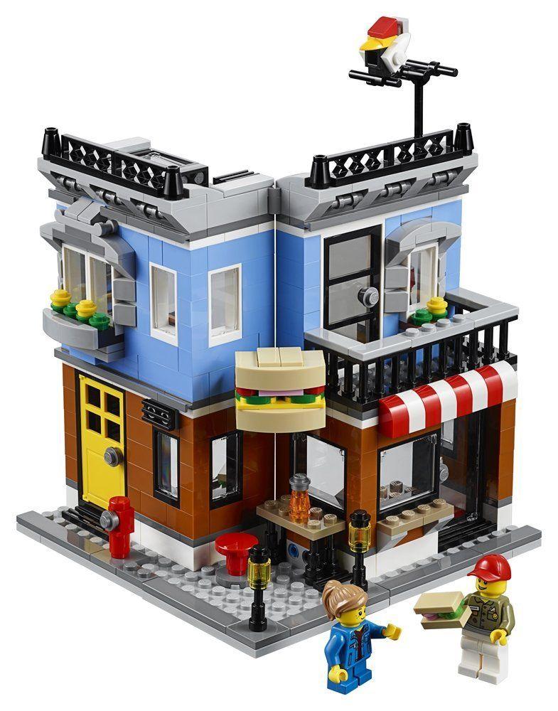Конструктор Lego Creator - Закусвалня на ъгъла (31050) - 4