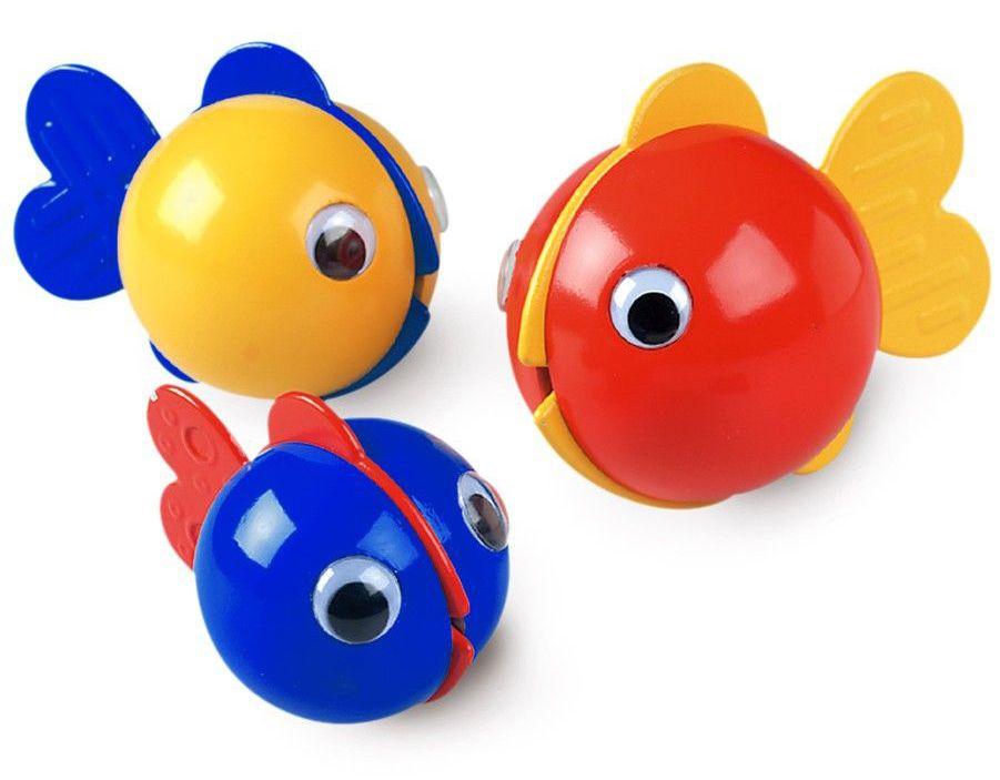 Играчка за баня Ambi Toys - Рибки за балончета Bubble Fish - 2