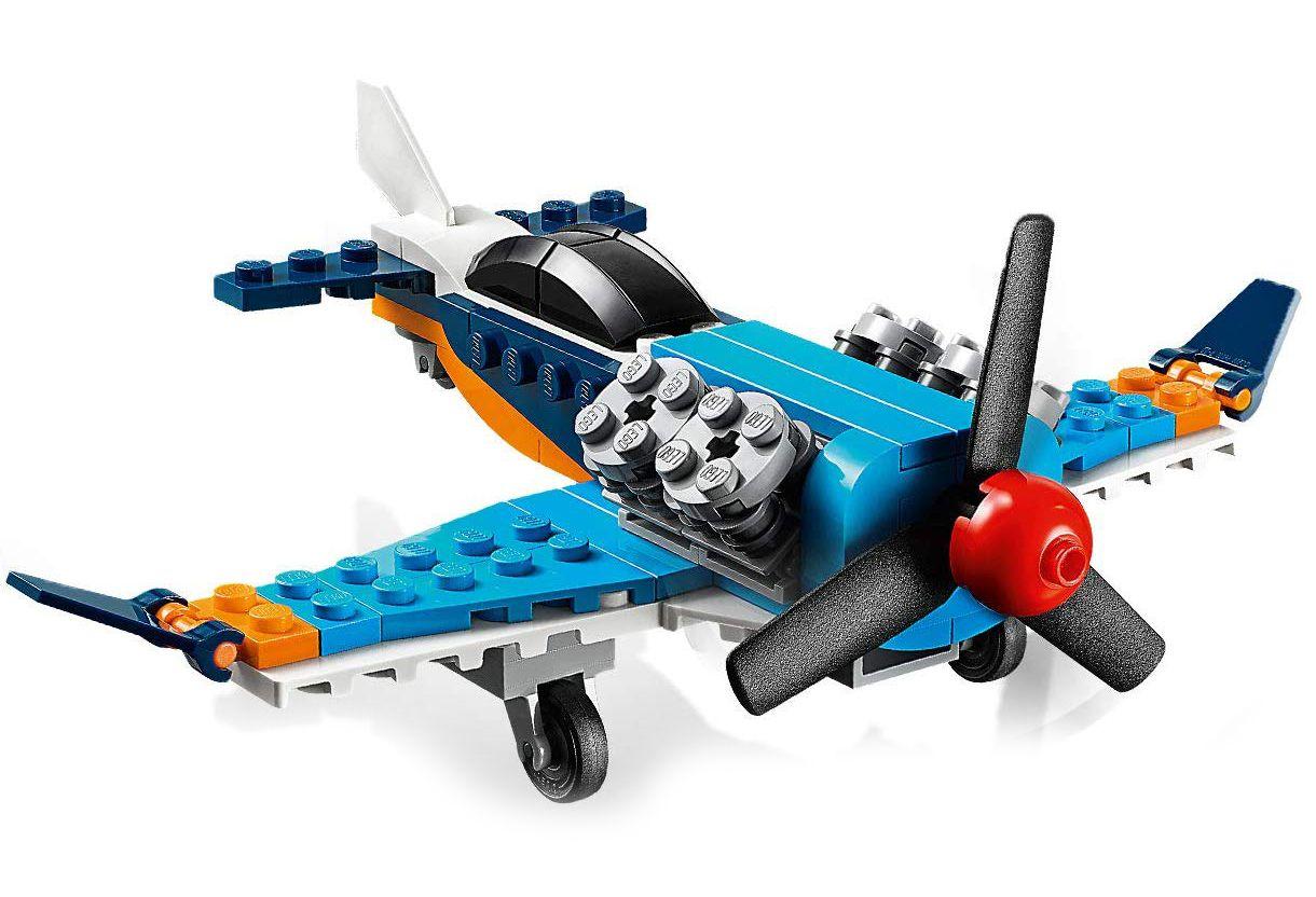 Конструктор 3 в 1 Lego Creator - Витлов самолет (31099) - 3