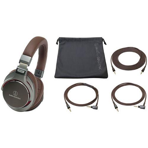 Слушалки Audio-Technica ATH-MSR7GM - сиви - 3