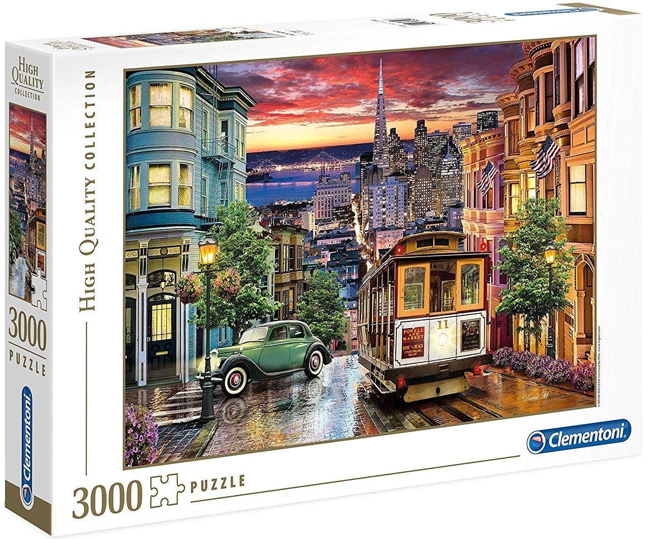 Пъзел Clementoni от 3000 части - Сан Франциско - 1
