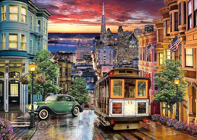 Пъзел Clementoni от 3000 части - Сан Франциско - 2
