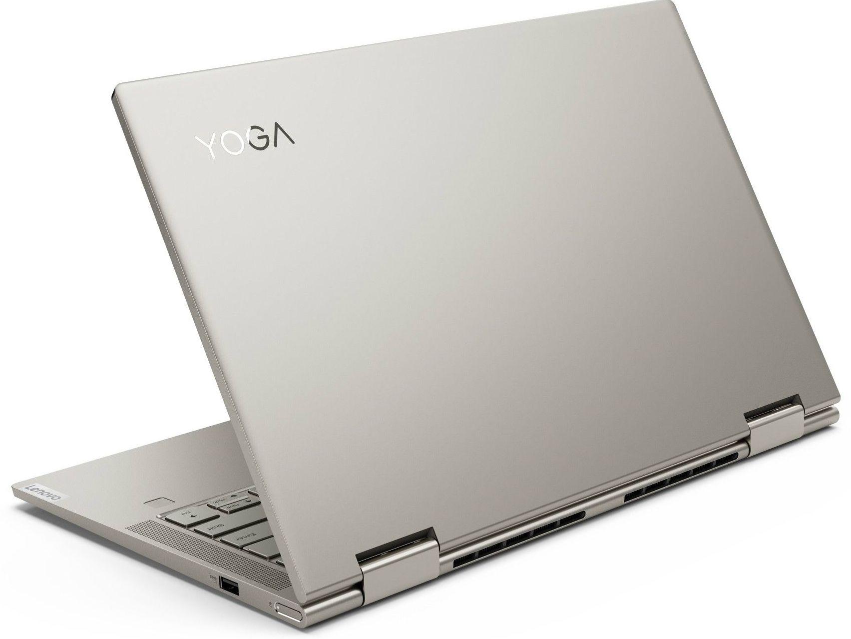Лаптоп Lenovo Yoga C740 - 81TC002MBM, сив - 4
