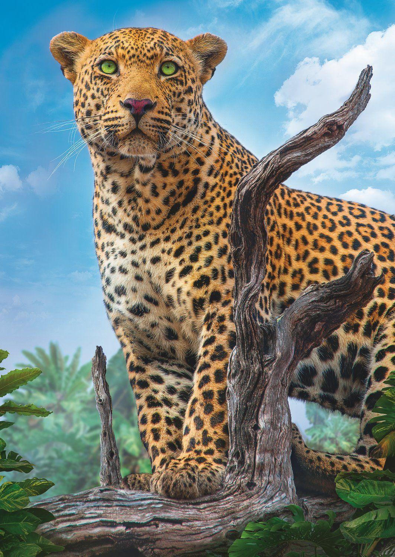 Пъзел Trefl от 500 части - Леопард - 2