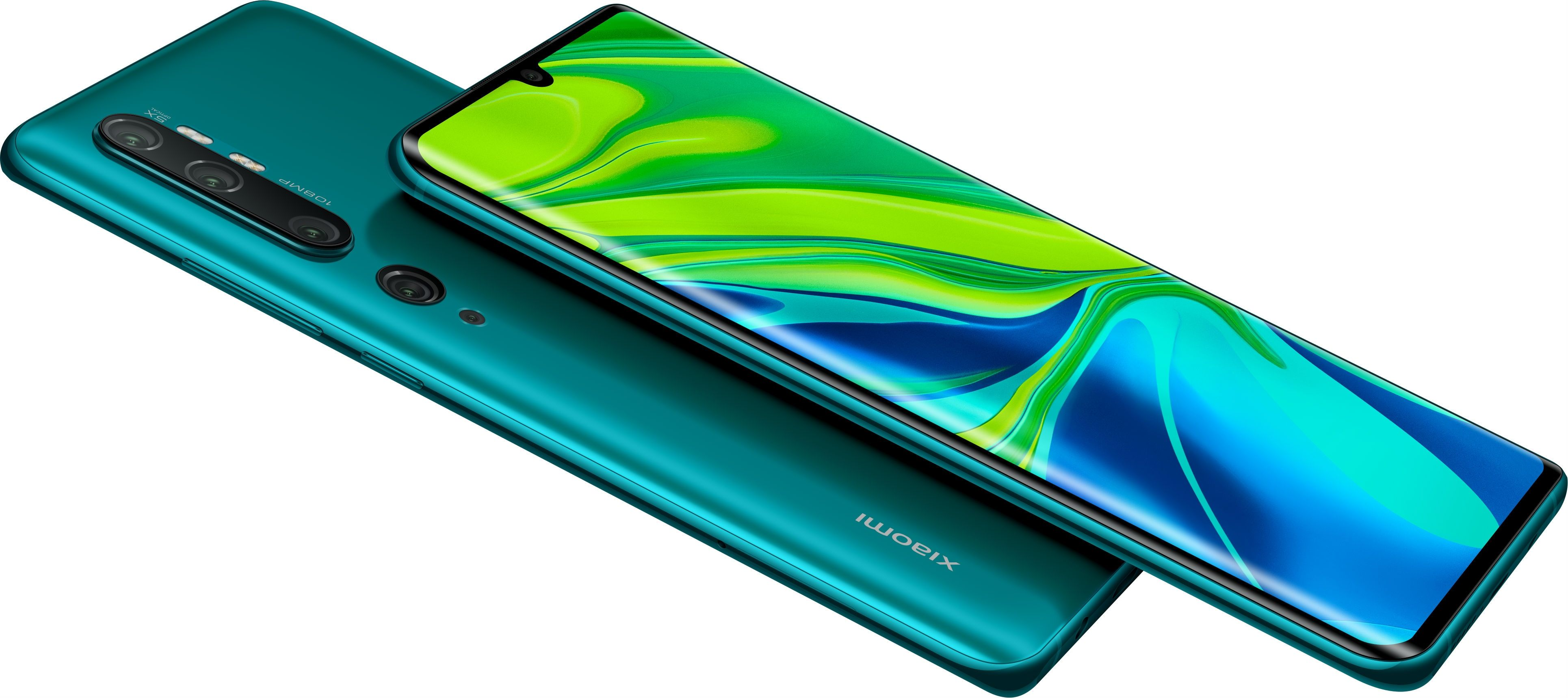 "Смартфон Xiaomi Mi Note 10 - 6.47"", 128GB, aurora green - 5"