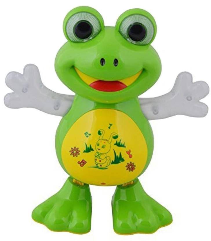 Интерактивна играчка Happy Toys - Жаба, танцуваща и пееща на български език - 1