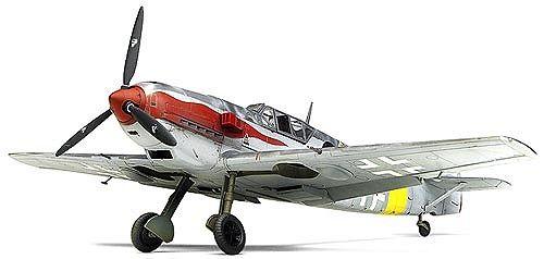 Военен самолет Academy Messerschmitt Bf 109 T-2 (12225) - 1
