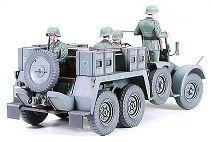 Tamiya военен камион с ремарке-оръдие Krupp Towing Truck (35259) - 3