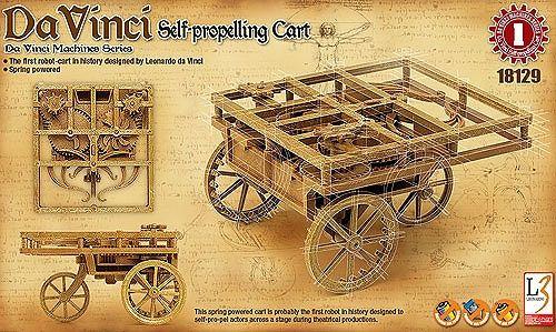 Самоходна каруца Academy Da Vinci (18129) - 1