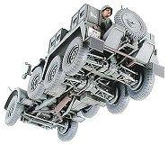 Tamiya военен камион с ремарке-оръдие Krupp Towing Truck (35259) - 6