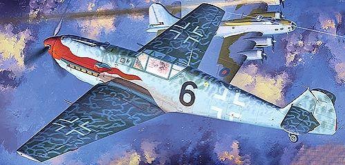 Военен самолет Academy Messerschmitt Bf 109 T-2 (12225) - 5