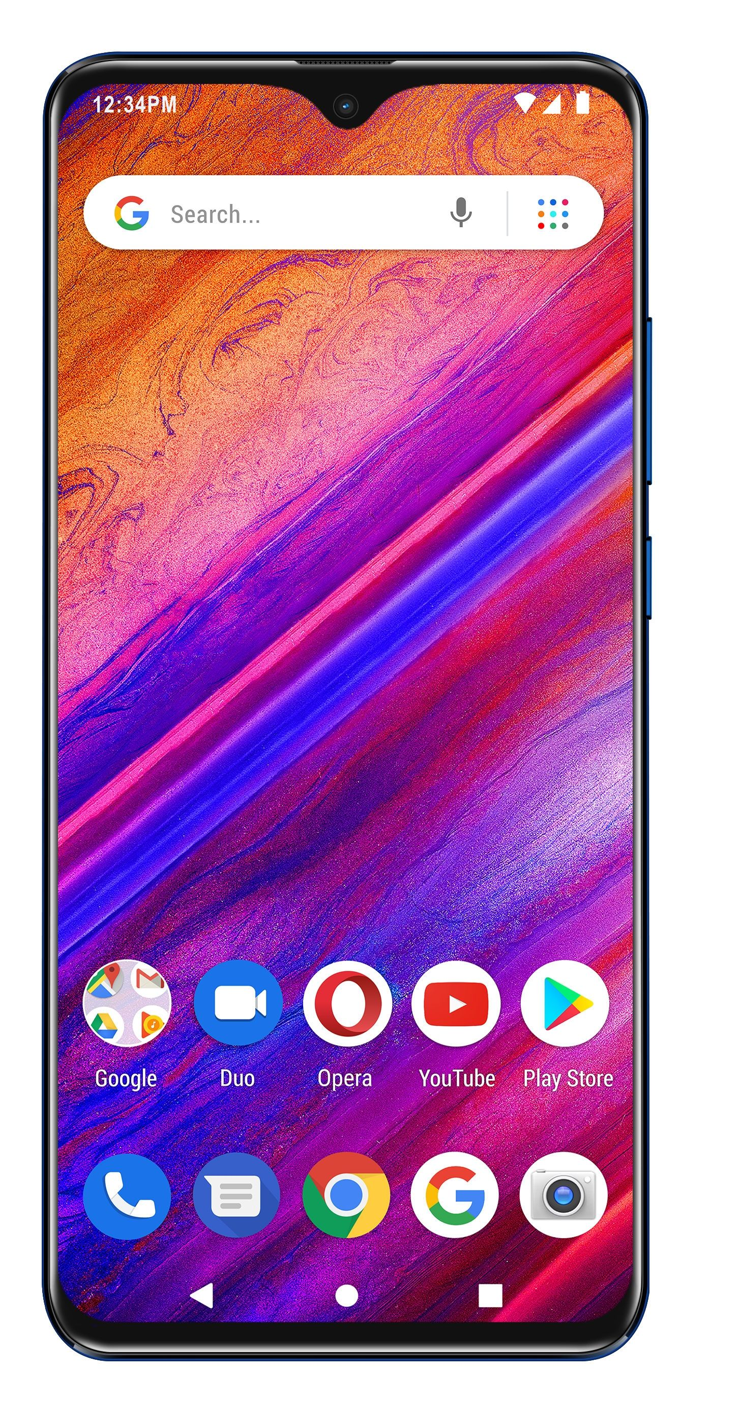 """Смартфон BLU G9 - 6.3"""", 64GB, син - 1"""