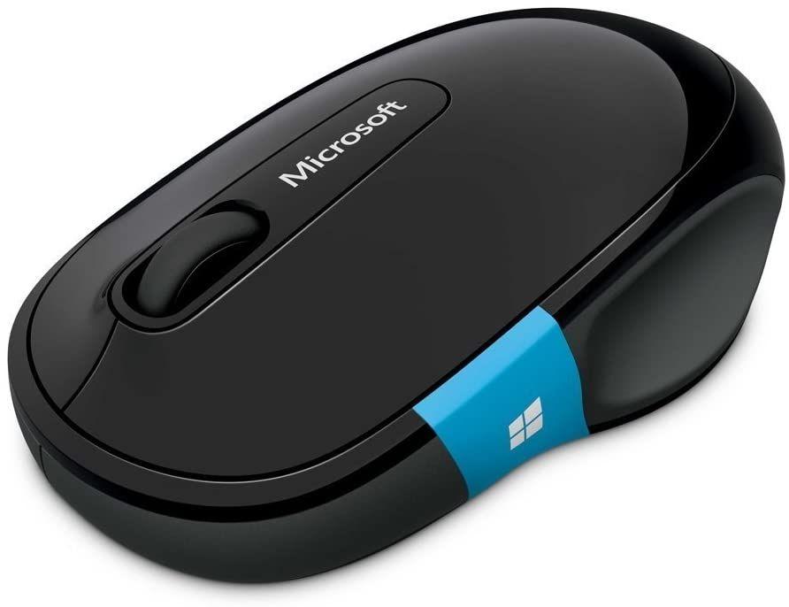 Мишка Microsoft - H3S-00001, безжична, черна - 2