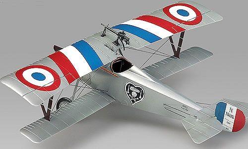 Военен самолет Academy Nieuport 17 (12110) - 3