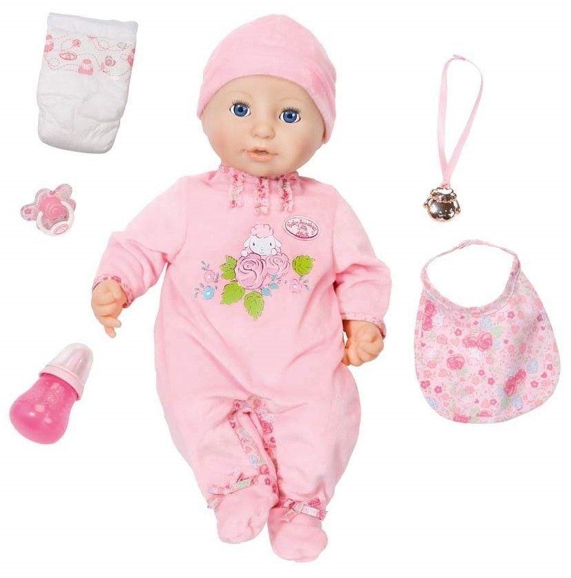 Детска кукла Zapf Creation, Baby Born - Анабел - 2
