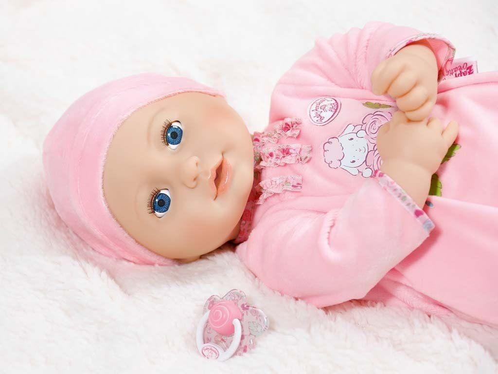Детска кукла Zapf Creation, Baby Born - Анабел - 4