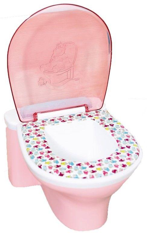 Детски аксесоар Zapf Creation, Baby Born - Забавна тоалетна - 1
