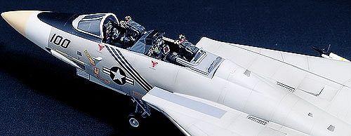 Военен изтребител Academy Tomcat F-14 (12253) - 4
