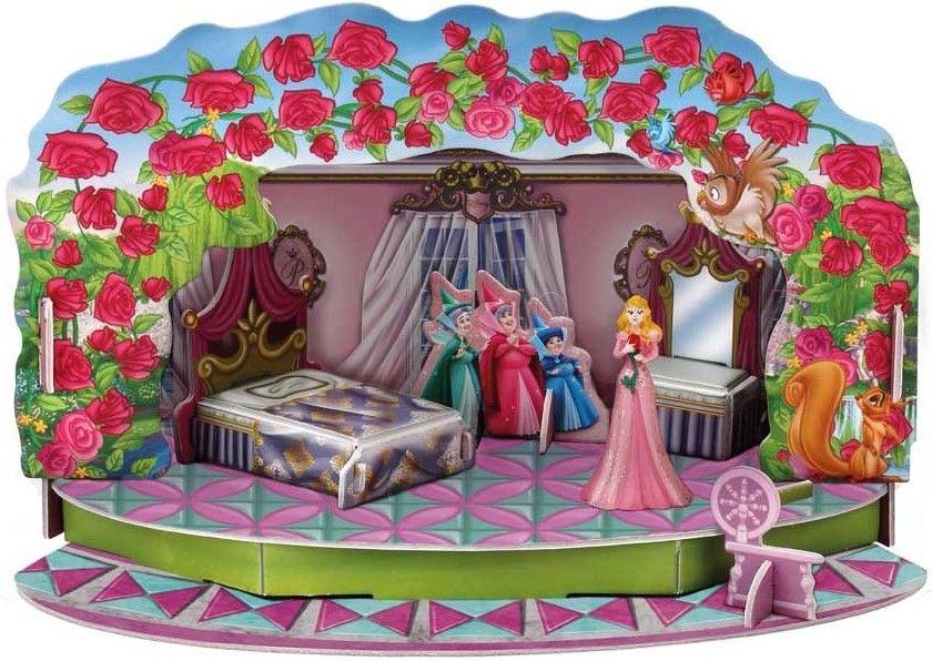 Игрален комплект Bullyland Disney Princess - Магическите моменти на Аурора - 1