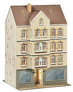 Многоетажна сграда със заведение Faller - 2