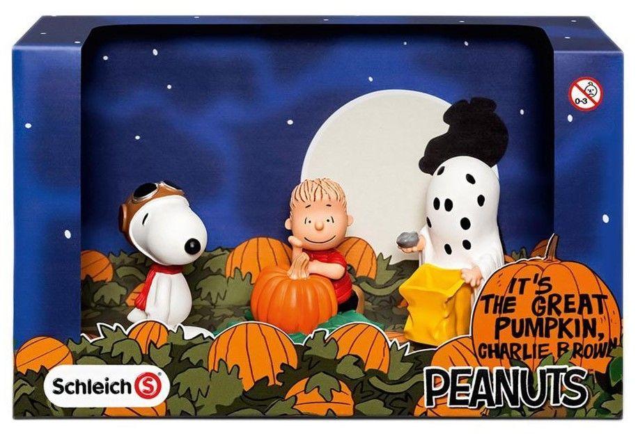 Комплект фигурки Schleich Peanuts - Хелоуин - 1