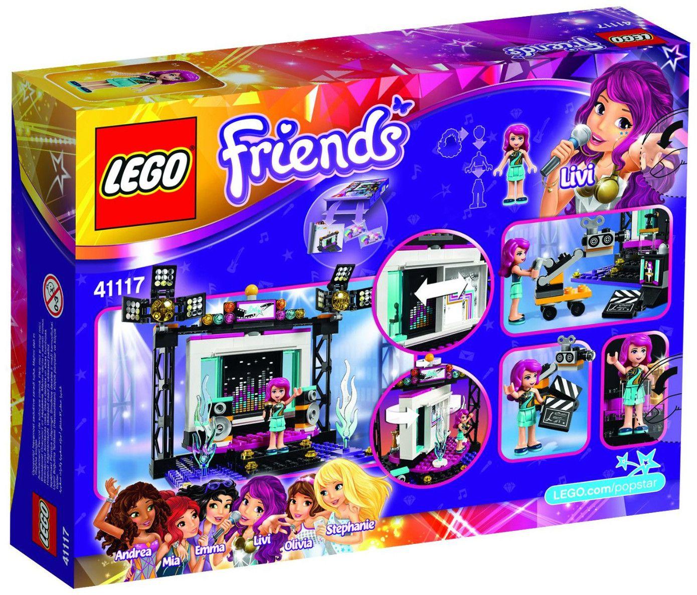 Конструктор Lego Friends - Поп стар ТВ студио (41117) - 3