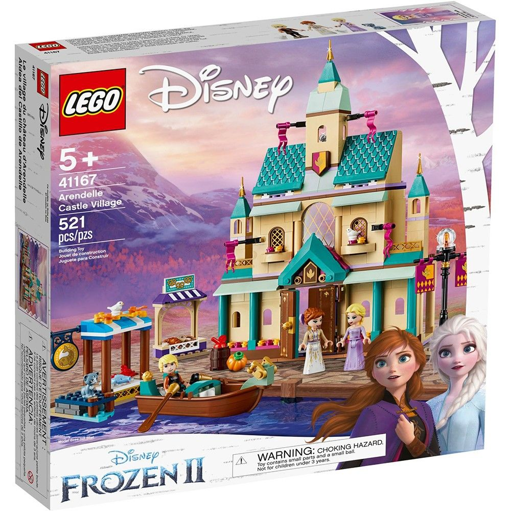 Конструктор Lego Disney Frozen - Замъкът Аръндейл (41167) - 1