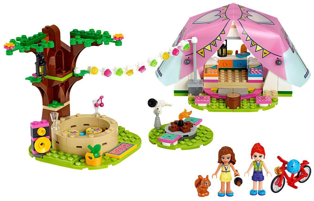 Конструктор Lego Friends - Луксозен къмпинг сред природата (41392) - 3