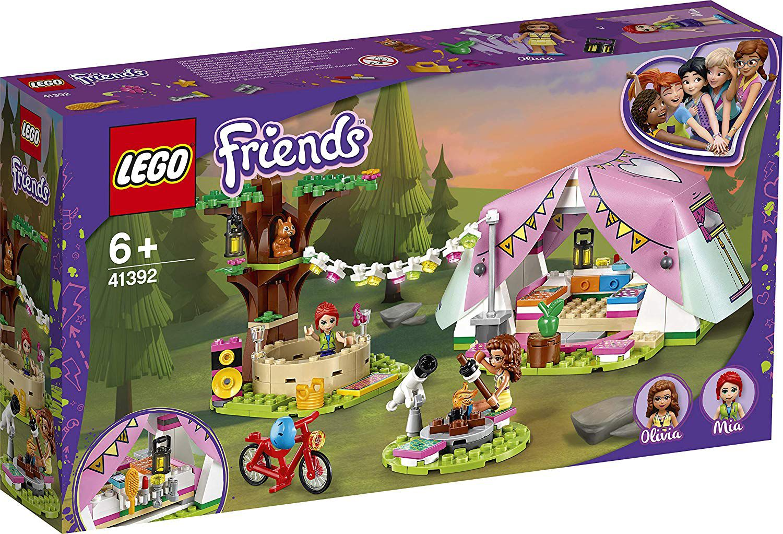 Конструктор Lego Friends - Луксозен къмпинг сред природата (41392) - 1