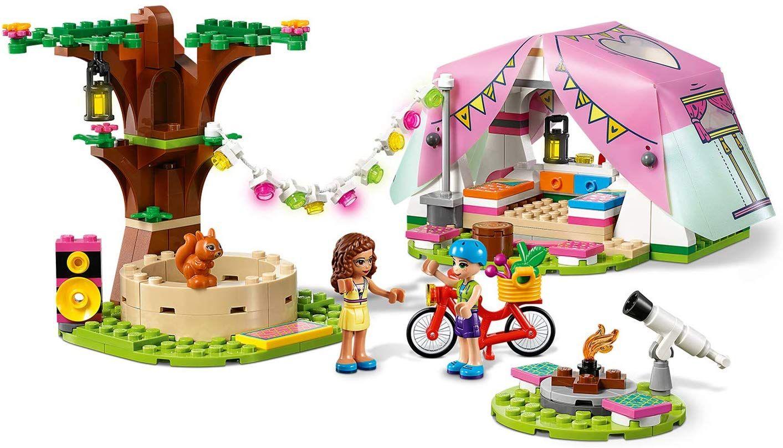 Конструктор Lego Friends - Луксозен къмпинг сред природата (41392) - 5