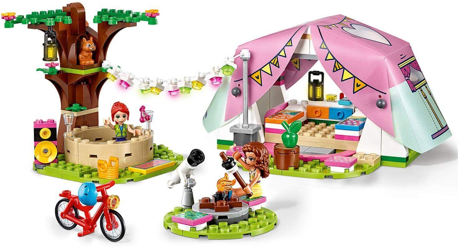 Конструктор Lego Friends - Луксозен къмпинг сред природата (41392) - 4