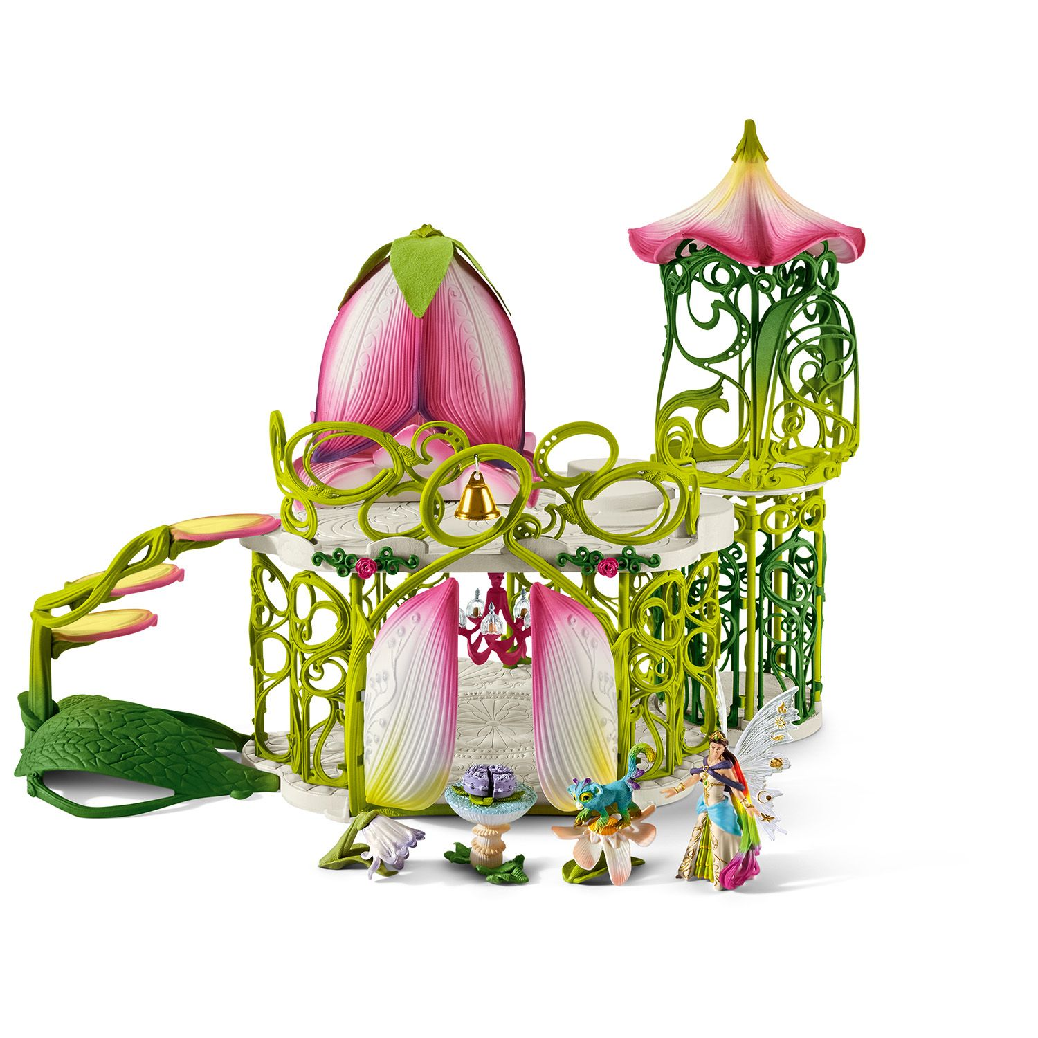 """Фигурка Schleich от серията """"Аксесоари към Баяла"""": Вълшебен елфически замък с принадлежности - 1"""