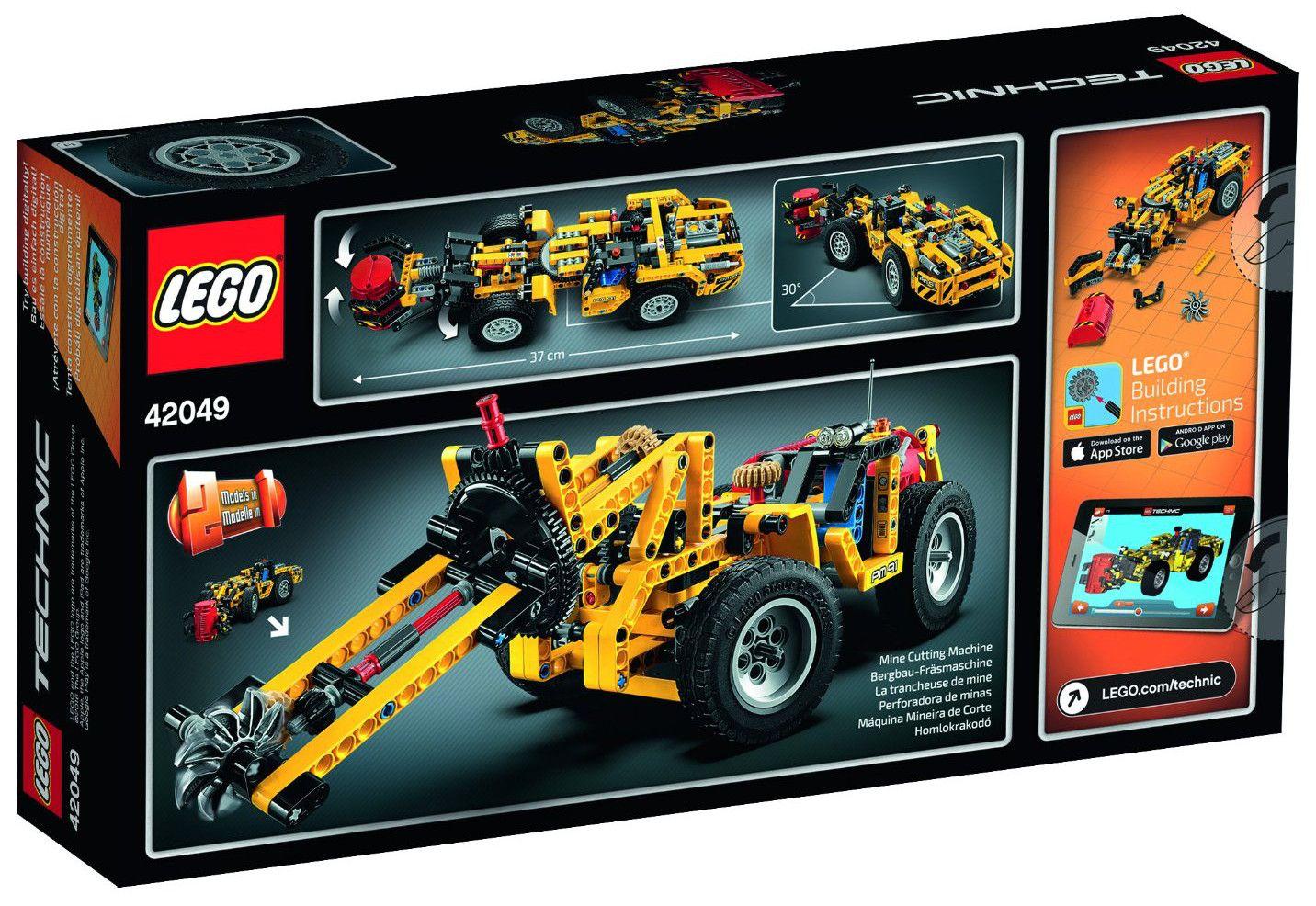 Конструктор Lego Technic - Минен товарач (42049) - 3