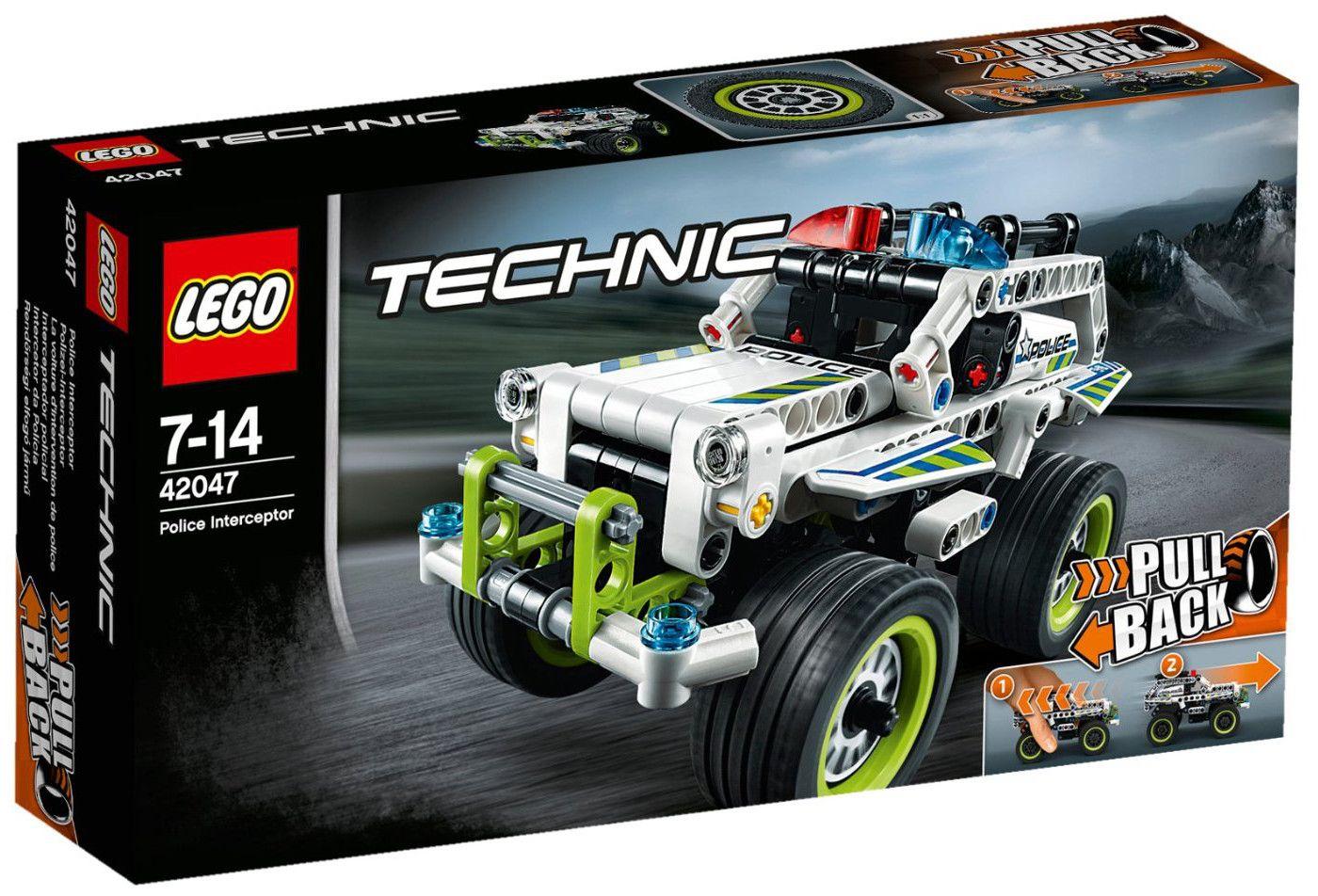 Конструктор Lego Technic - Полицейска кола за преследване (42047) - 1