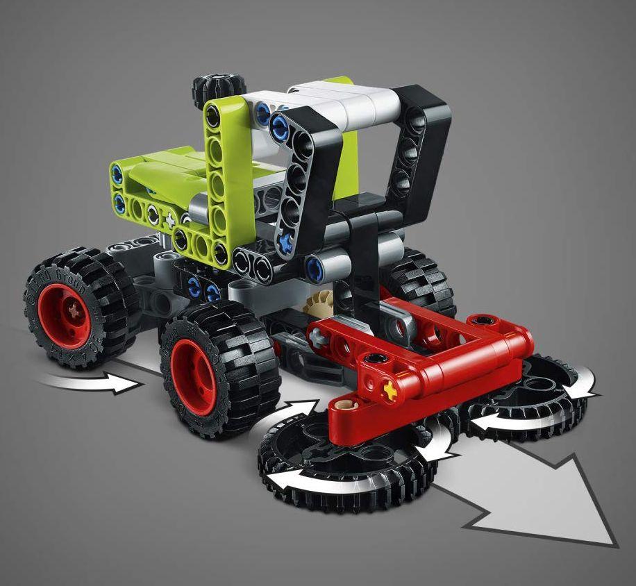 Конструктор Lego Technic - Mini Claas Xerion (42102) - 7