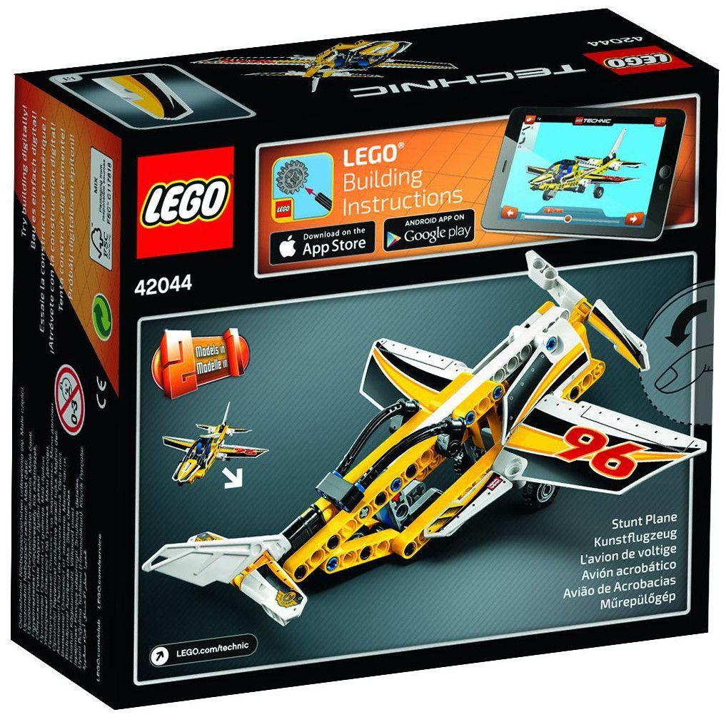 Конструктор Lego Technic - Реактивен самолет (42044) - 3