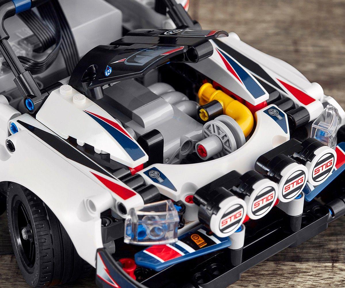 Конструктор Lego Technic - Рали кола, с управление чрез приложение (42109) - 7