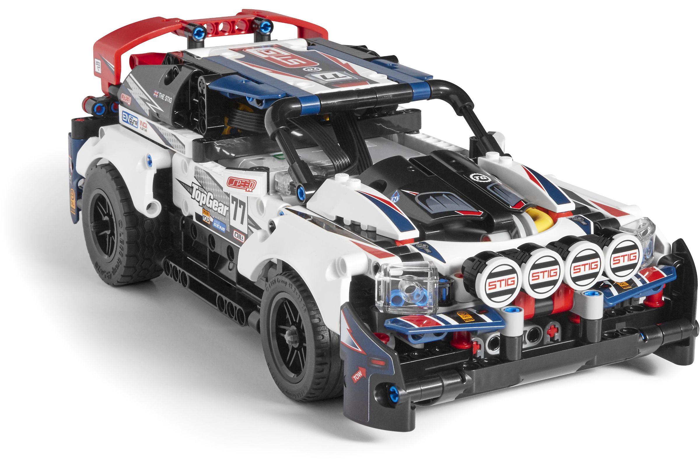 Конструктор Lego Technic - Рали кола, с управление чрез приложение (42109) - 4