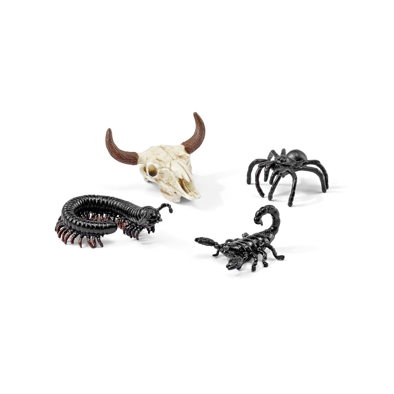 Фигурки Schleich от серията Аксесоари към Диви Животни: Комплект - долината на смъртта - 1