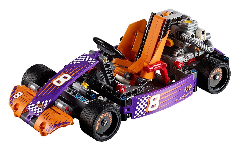 Конструктор Lego Technic - Състезателна картинг кола (42048) - 4