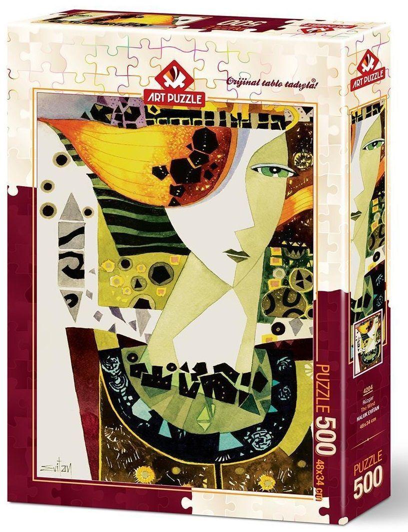 Пъзел Art Puzzle от 500 части - Вятърът, Халук Евитан - 1