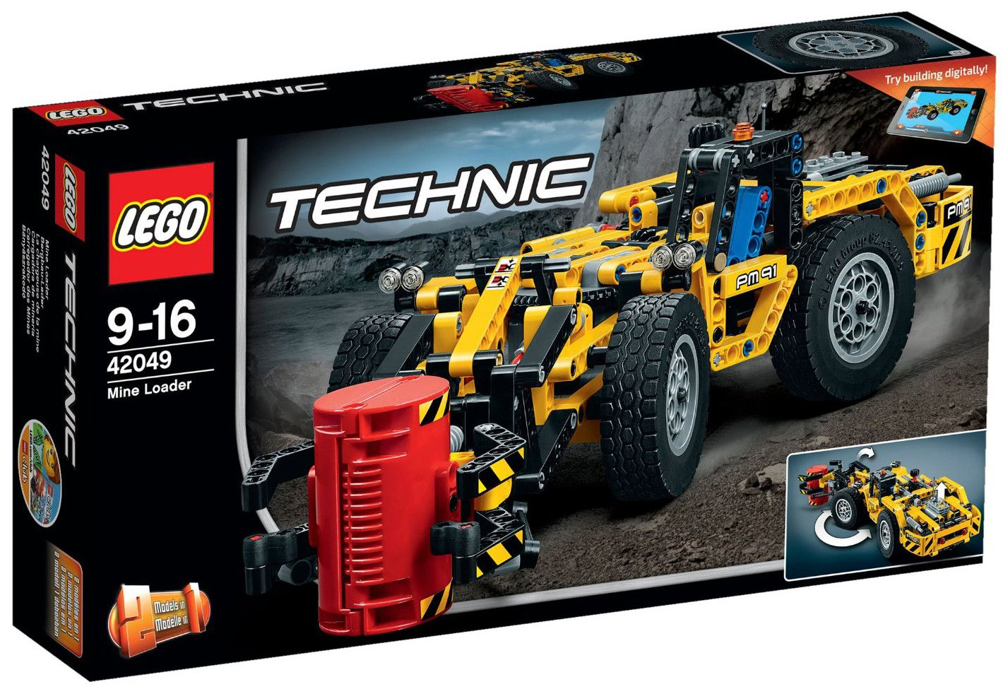 Конструктор Lego Technic - Минен товарач (42049) - 1