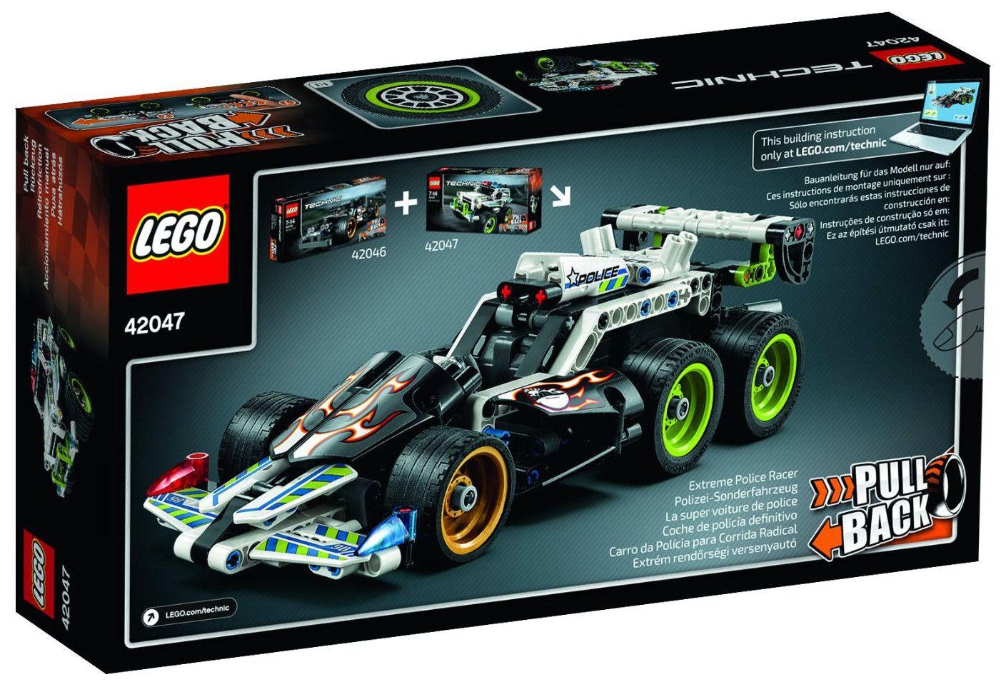 Конструктор Lego Technic - Полицейска кола за преследване (42047) - 3