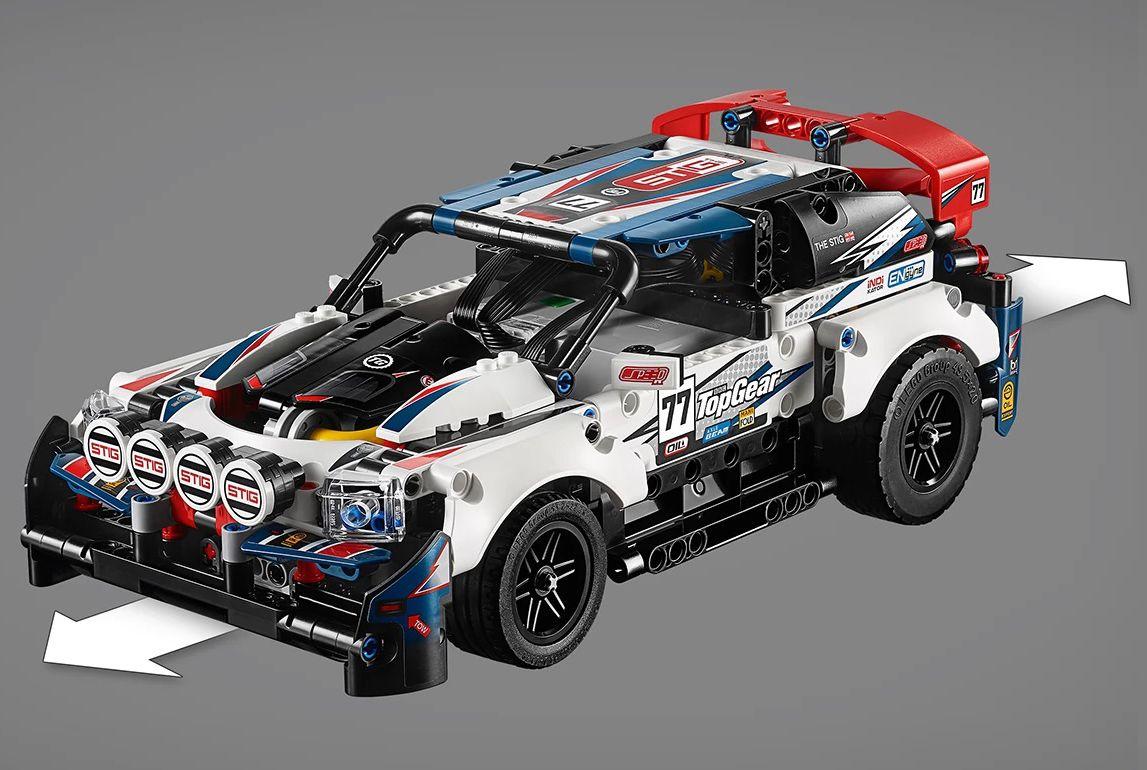 Конструктор Lego Technic - Рали кола, с управление чрез приложение (42109) - 8